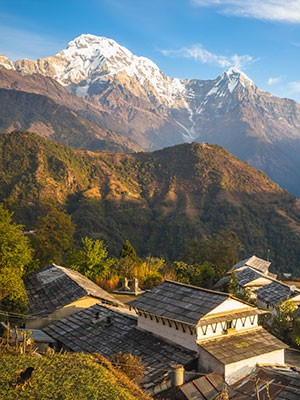 Shorts and Easy Treks in Nepal